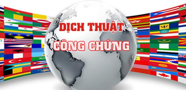 Dịch thuật công chứng lấy ngay tại Hà Nội