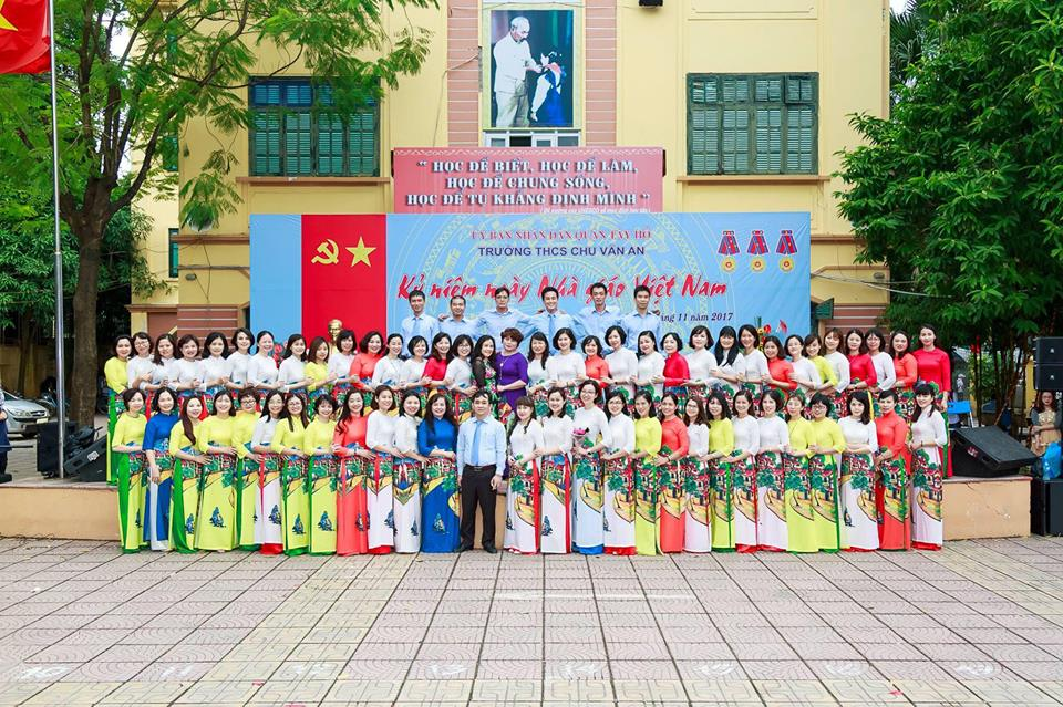 Trường THCS Chu Văn An Được Nhiều Học Sinh và Phụ Huynh Lựa Chọn