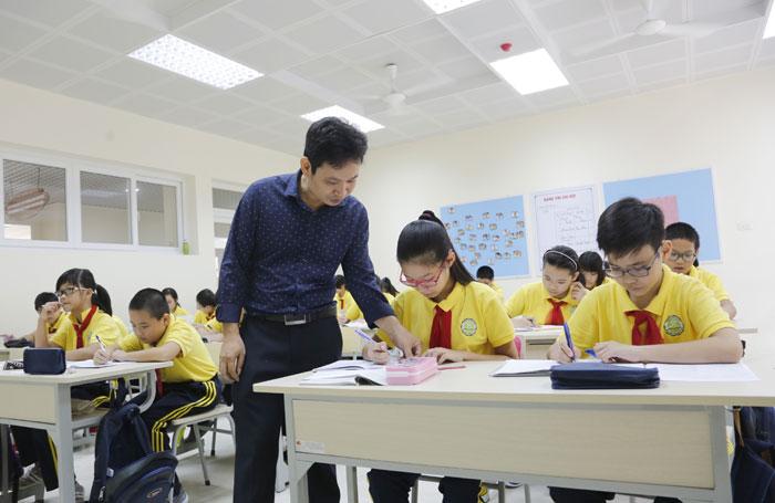 Trường THCS Thanh Xuân có mức học phí phù hợp