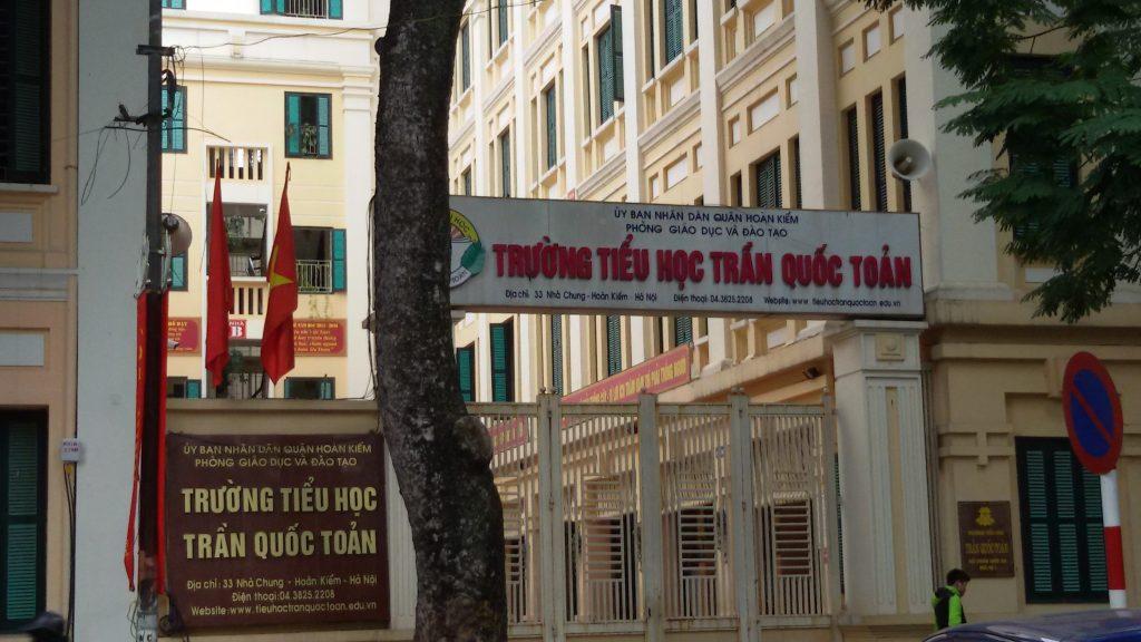 Trường tiểu học Trần Quốc Toản : Nơi ươm mầm măng non của thủ đô