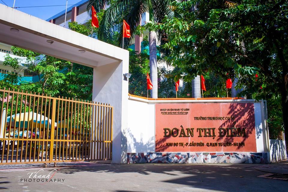 Trường THCS Đoàn Thị Điểm – Cầu Diễn – Từ Liêm – Hà Nội
