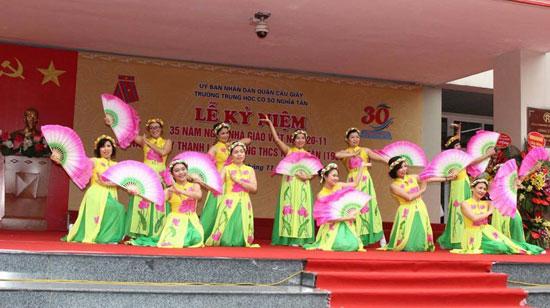 Tuyển sinh lớp 6 trường THCS Nghĩa Tân – Cầu Giấy – Hà Nội