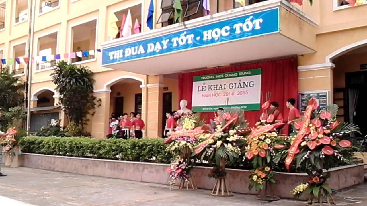 Trường THCS Quang Trung : 4 Lý Do Phụ Huynh Nên Cho Con Học