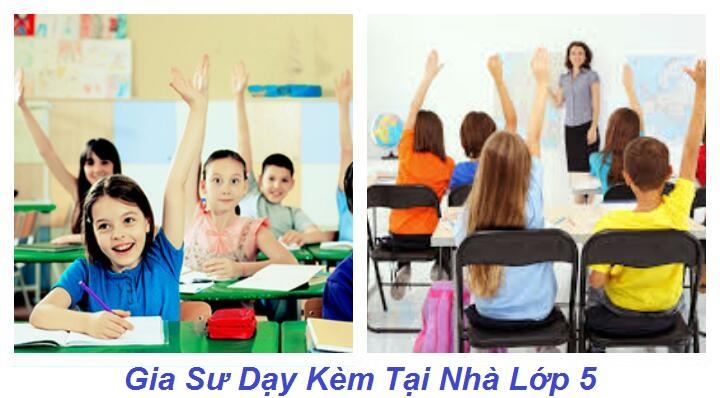Gia Sư Lớp 5 Tại Nhà Hà Nội Dạy Toán - Tiếng Việt, Tiếng Anh
