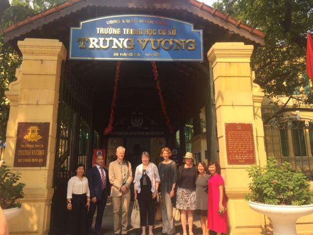 Trường THCS Trưng Vương – Ngôi trường đáng mơ ước