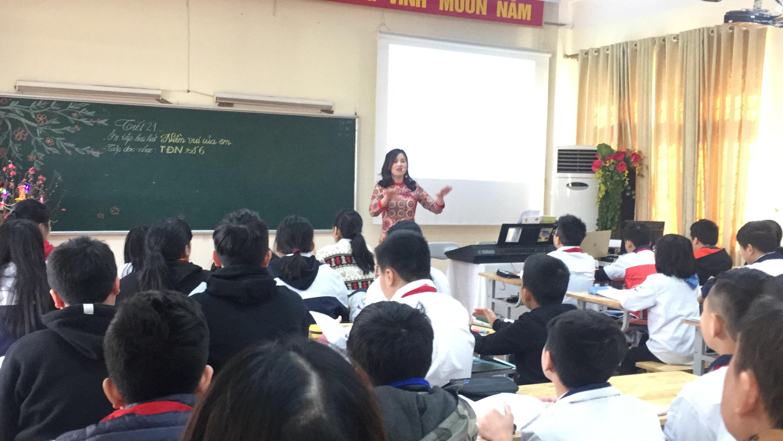Trường Hoàng Hoa Thám có đội ngũ giáo viên giỏi, nhiệt huyết