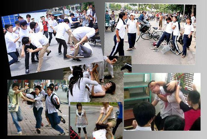 Đề bài : Nghị luận về vấn đề bạo lực học đường