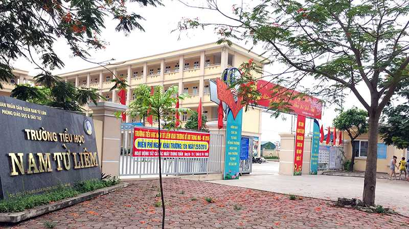 Trường Tiểu Học Nam Từ Liêm – TOP 10 Trường Đáng Học Tại Hà Nội