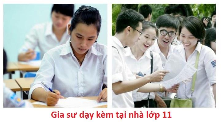 Gia Sư Lớp 11 Tại Nhà (Bảng giá gia sư dạy lớp 11 tại Hà Nội)