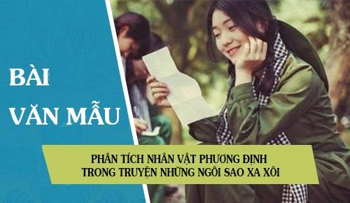Bài Văn Mẫu Phân Tích Phương Định -Lê Minh Khuê