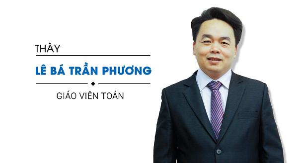 Thầy giáo Lê Trần Bá Phương