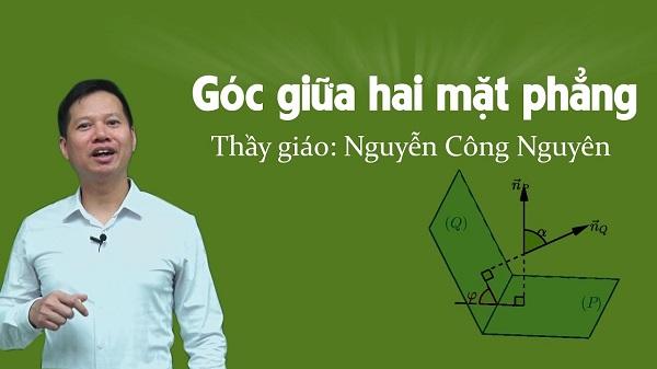 Thầy giáo giỏi Toán Nguyễn Công Nguyên
