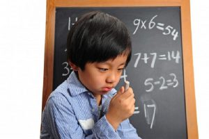 Không Nên Xem Thường Hội Chứng Trẻ Khó Học Toán