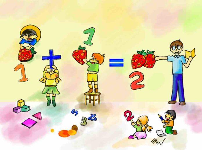 Cách dạy con học toán lớp 1 a