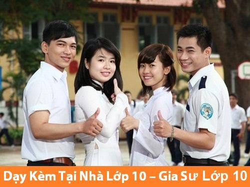 Gia sư lớp 10 tại Hà Nội
