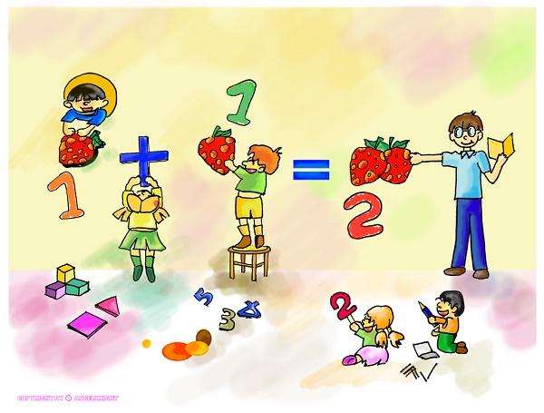 Cách dạy toán lớp 2 cho con nhanh tiến bộ 2