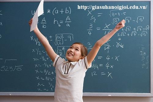 Học với gia sư dạy Toán Lý Hóa sẽ giúp các em học sinh :