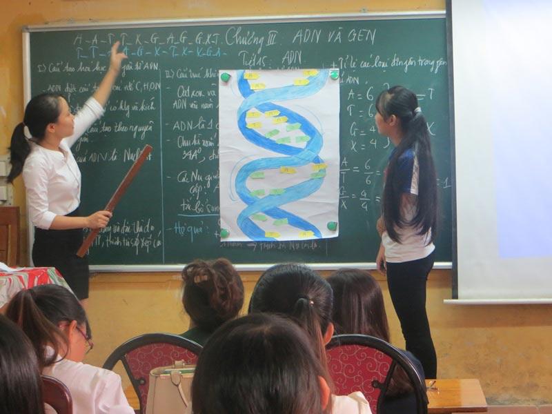 Gia sư dạy môn Sinh Học tại trung tâm gia sư Hà Nội Giỏi