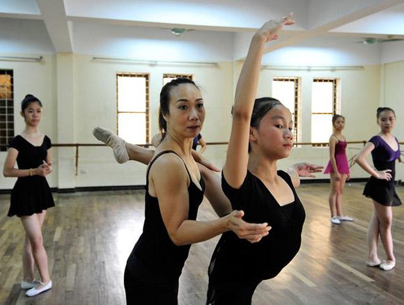 gia sư dạy múa 2