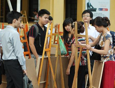 Gia sư dạy kèm môn vẽ tại nhà ở Hà Nội, HCM - 097.948.1988