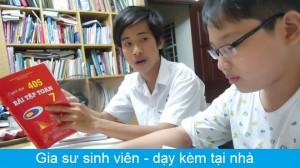 Gia sư Sinh Viên giỏi dạy kèm từ lớp 1 – 12, Toán Lý Hóa Anh ..