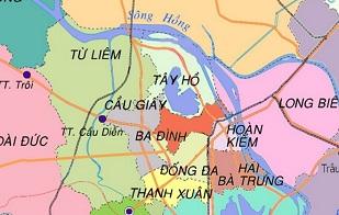 Gia sư theo Quận - Huyện