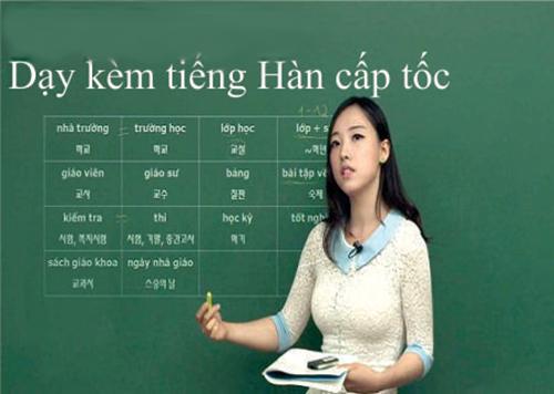 Gia sư tiếng Hàn tại nhà dạy cơ bản, luyện thi TOPIK và KLPT
