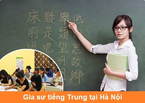Mách bạn: Trung tâm có giáo viên dạy tiếng Trung Quốc tại nhà tốt nhất Hà Nội