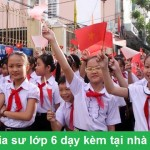 Gia sư lớp 6 GIỎI dạy kèm tại nhà ở Hà Nội – Học thử 2 buổi miễn phí