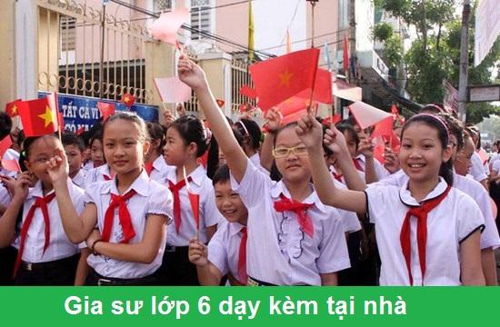 Gia Sư Lớp 6 Tại Hà Nội
