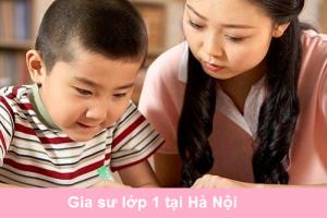 Gia Sư Lớp 1 Hà Nội Dạy Toán, Tiếng Việt, Tiếng Anh, Rèn Chữ