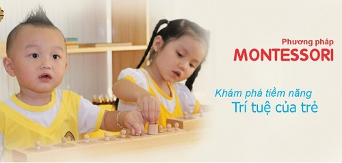 Phương pháp giáo dục sớm Montessori