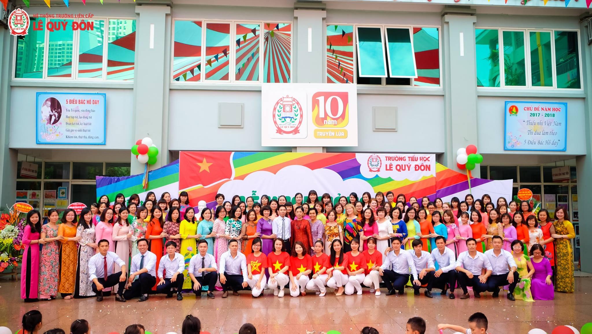 Trường Tiểu Học Lê Quý Đôn Hà Nội Nơi Chắp Cánh Ước Mơ