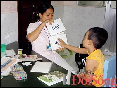 dạy trẻ chậm nói