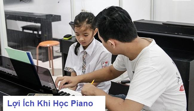 Lợi Ích Khi Cho Trẻ Học Piano